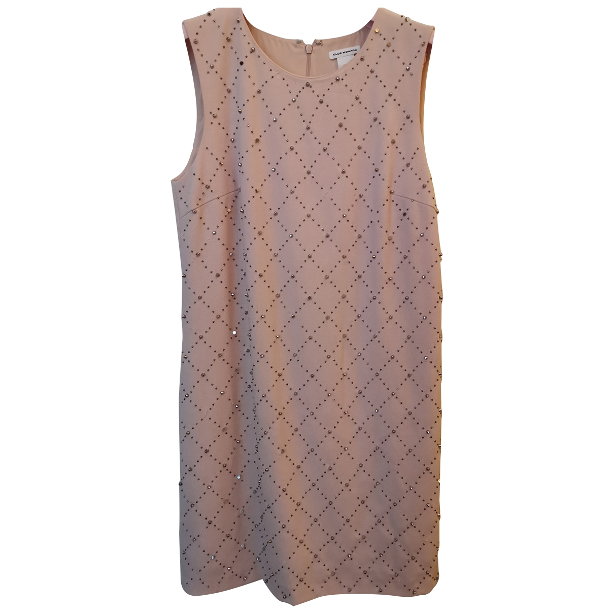 Club Monaco \N Kleid in  Rosa Polyester