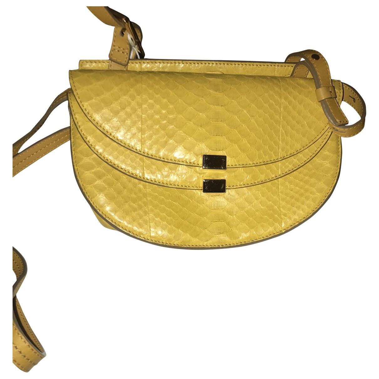 Chloé Georgia Yellow Python handbag for Women \N