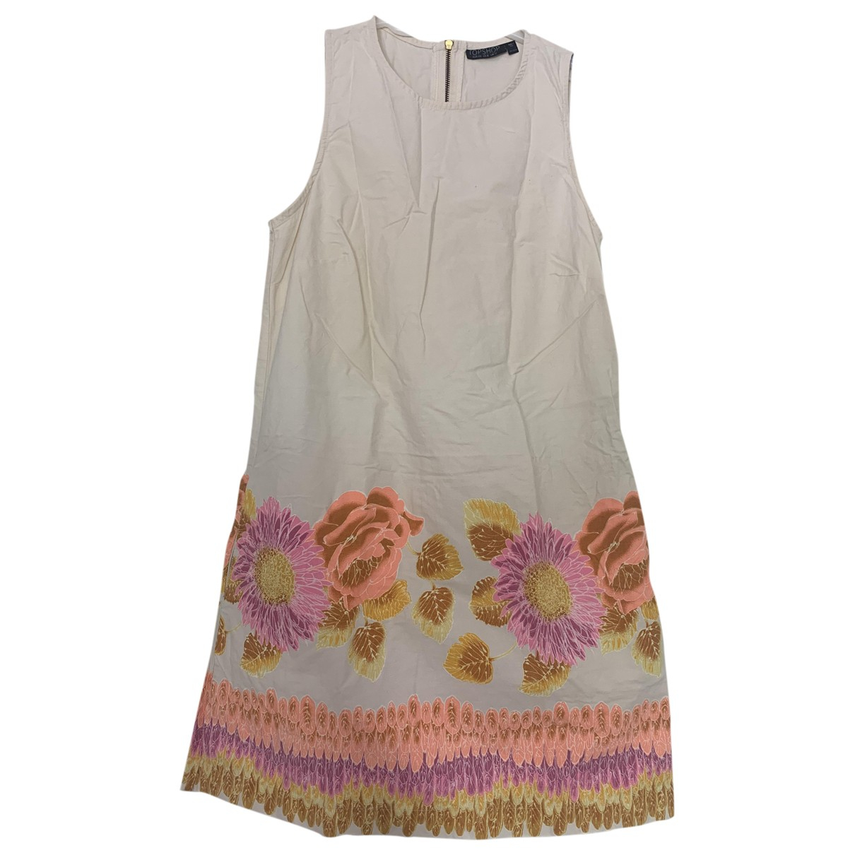 tophop \N Beige Cotton dress for Women 8 UK