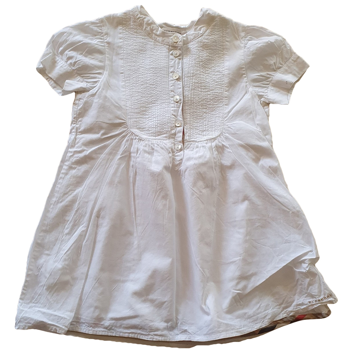 Burberry \N White Cotton dress for Kids 2 years - up to 86cm FR