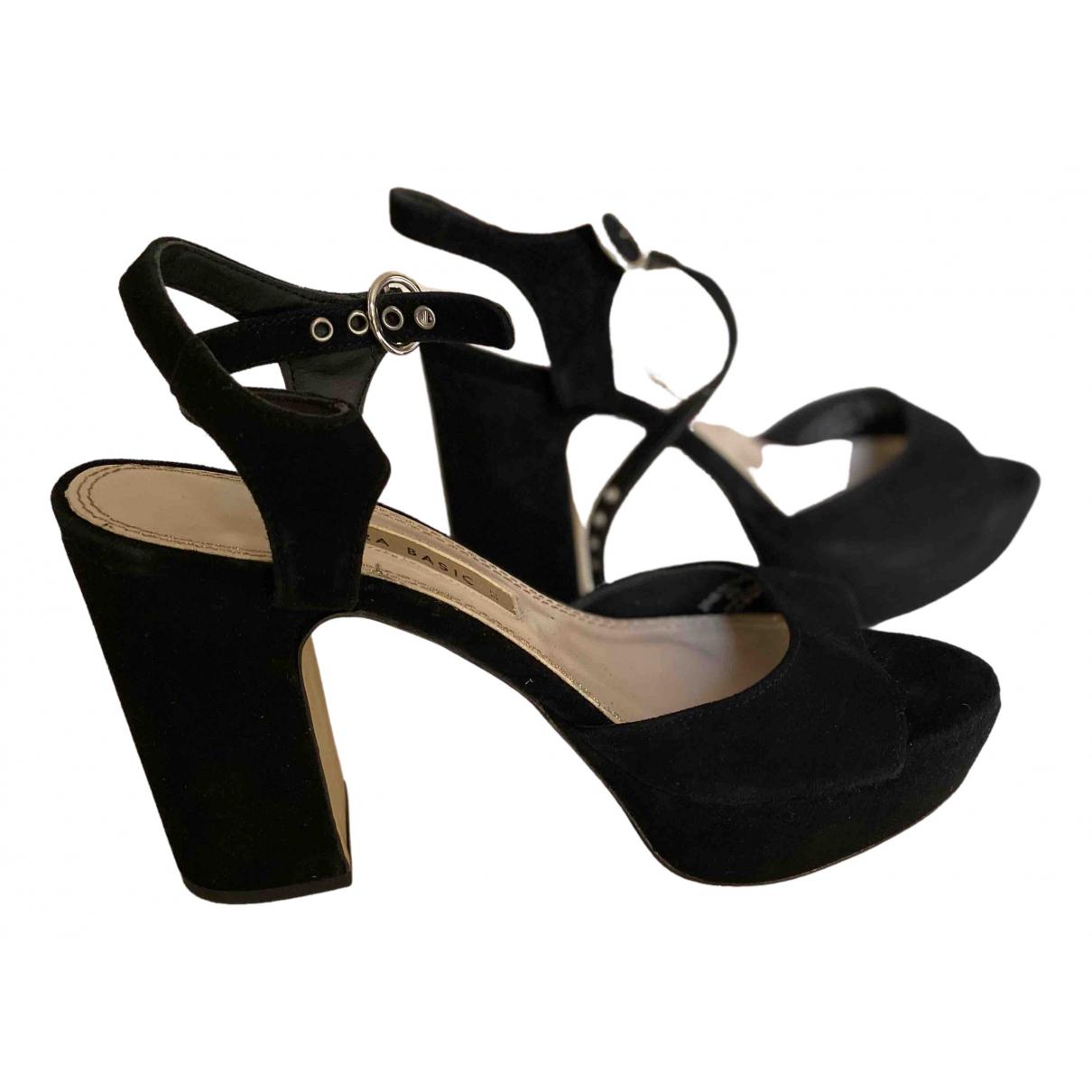 Sandalias de Pelo sintetico Zara