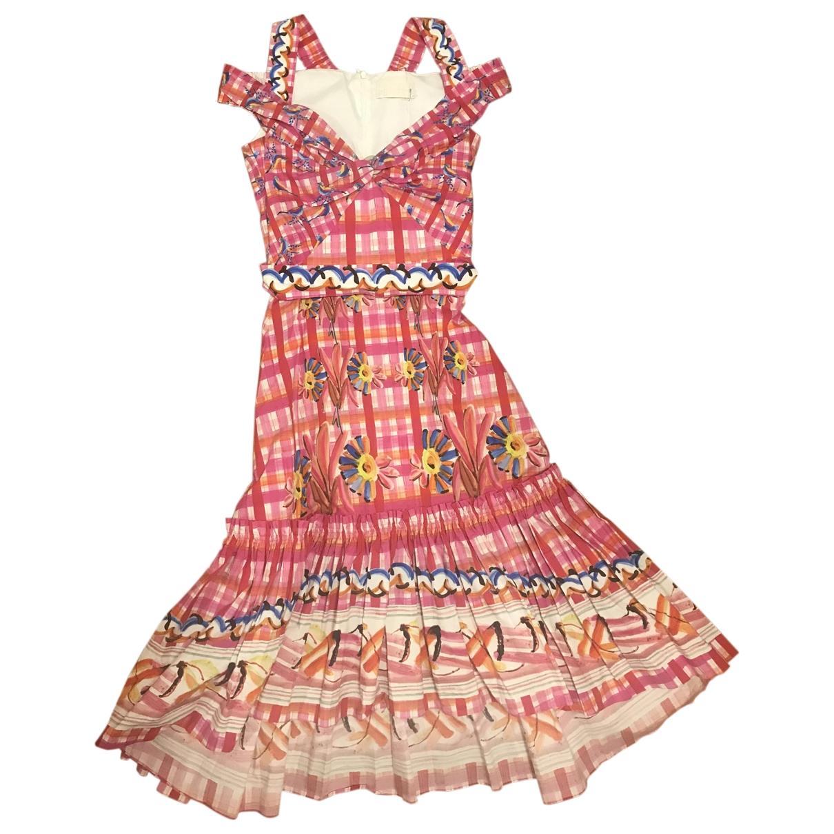 Peter Pilotto - Robe   pour femme en coton - rose