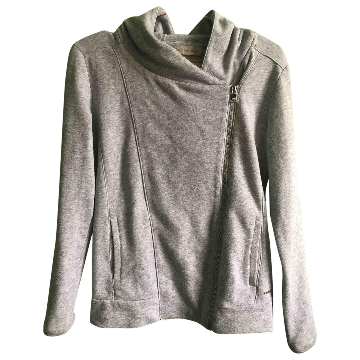 Calvin Klein \N Grey Cotton Knitwear for Women XS International