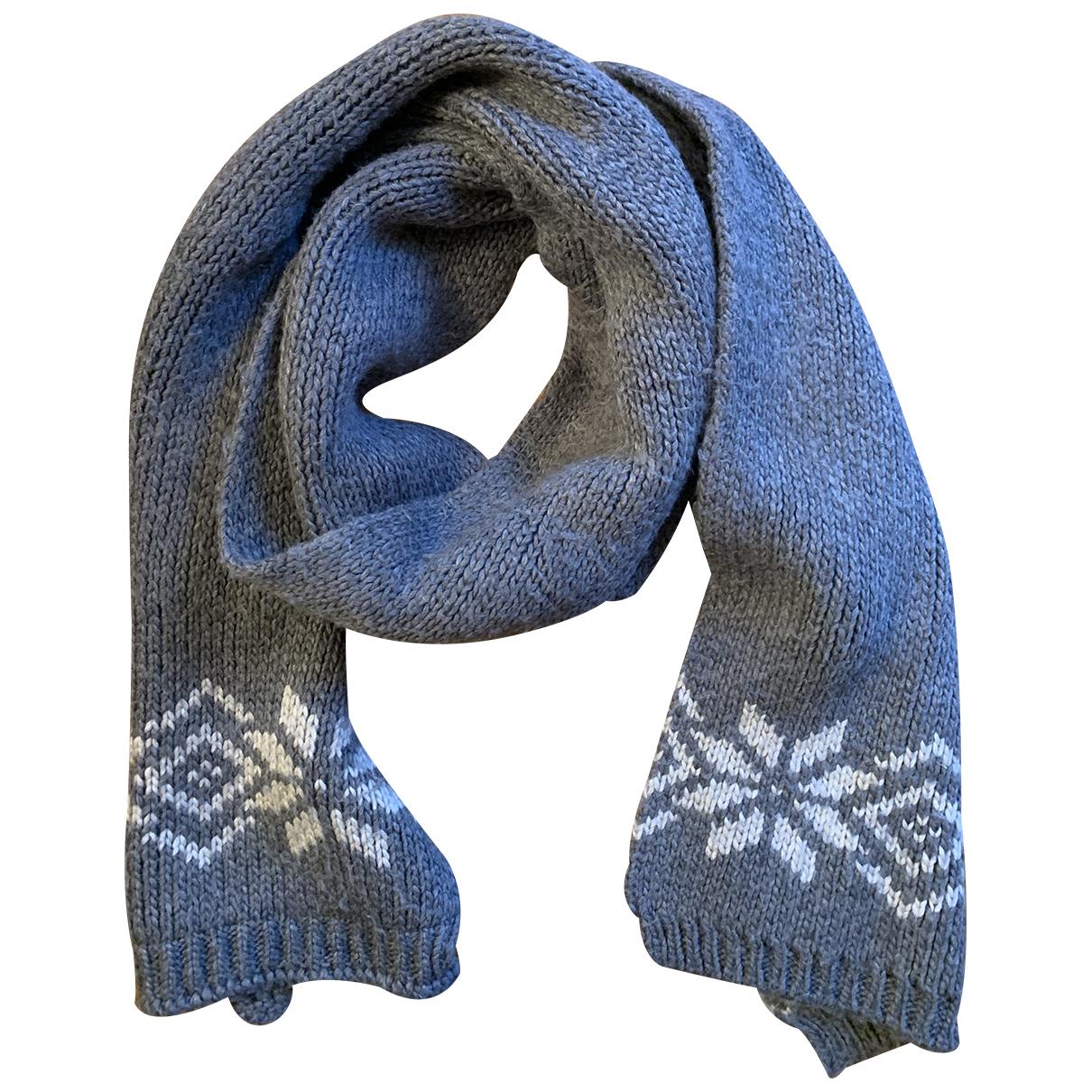 Moncler - Cheches.Echarpes   pour homme en laine - gris