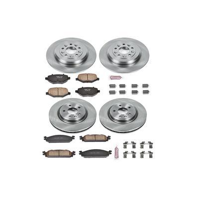 Power Stop 1-Click OE Replacement Brake Kits - KOE5510