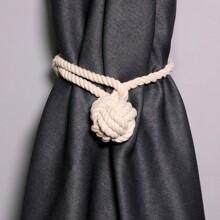 1 pieza cordon de cortina trenzado