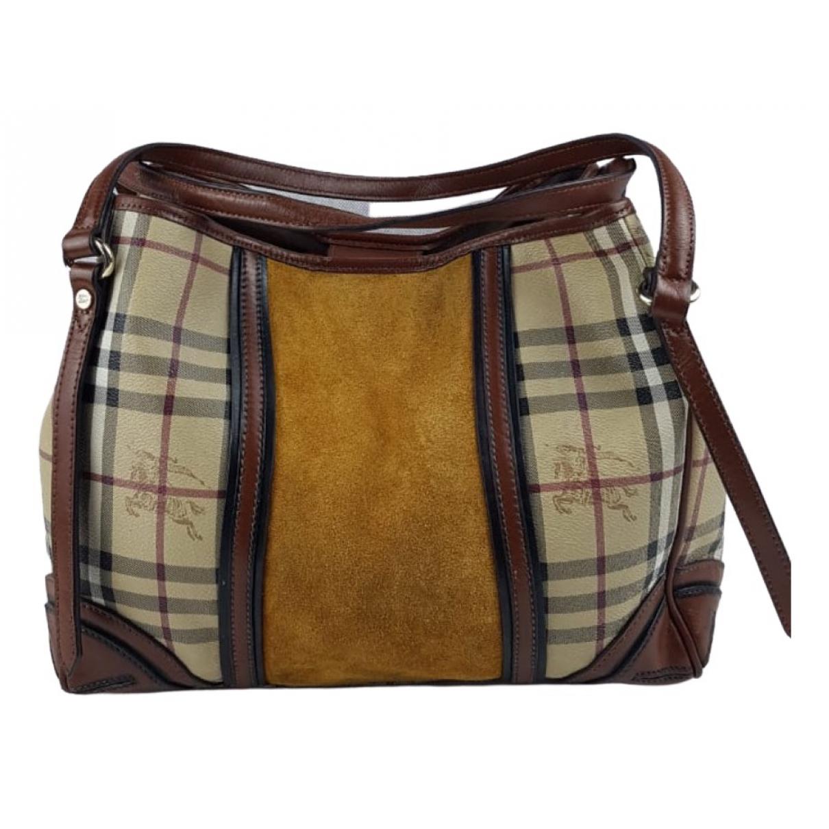 Burberry \N Brown Leather handbag for Women \N