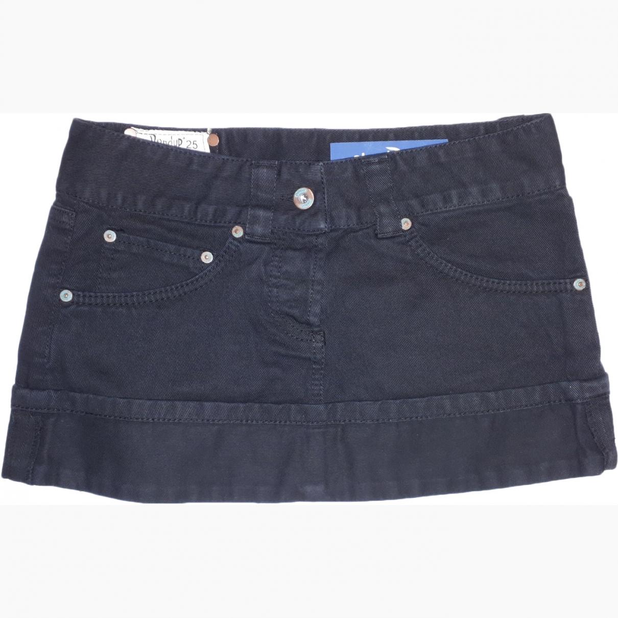 Dondup \N Black Denim - Jeans skirt for Women 38 IT