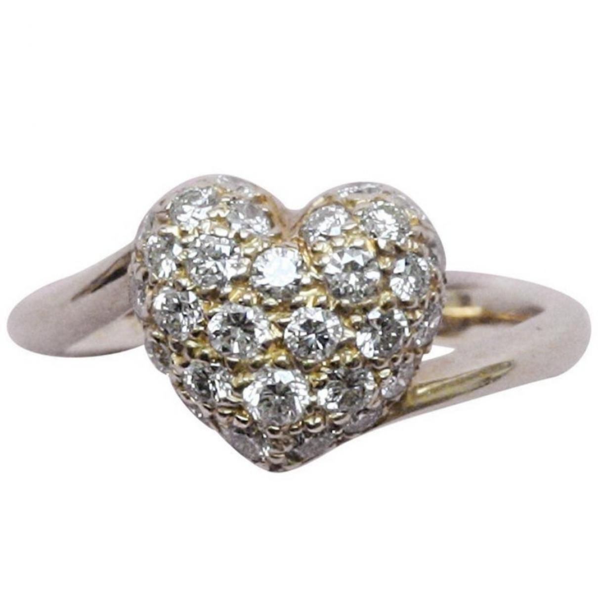 Cartier \N Ring in  Weiss Weissgold
