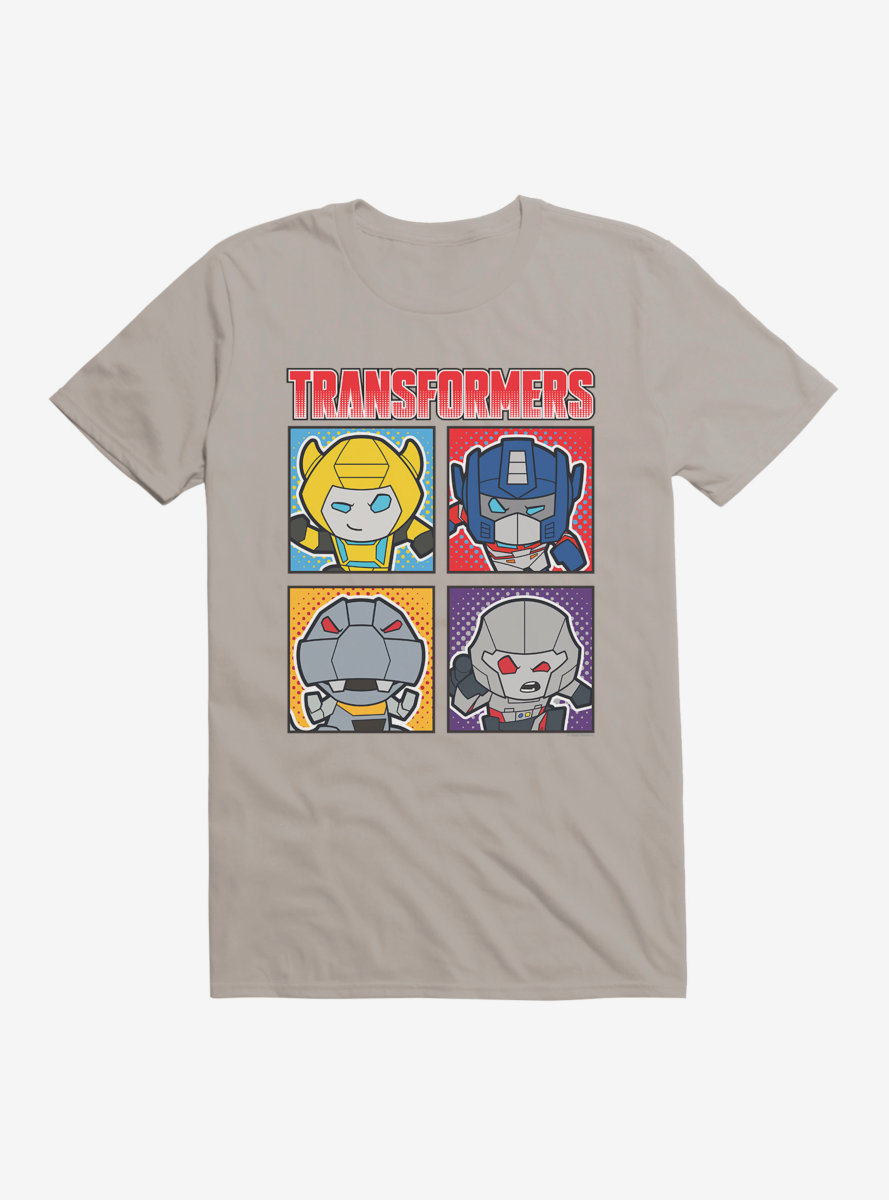 Transformers Character Boxes T-Shirt