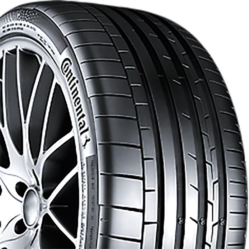 Continental 03566590000 Sport Contact 6 Tire 245/35 R19 93YxL BSW VM