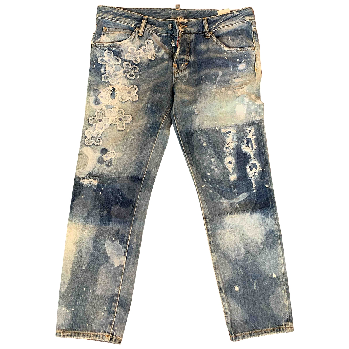 Dsquared2 \N Blue Denim - Jeans Jeans for Women 29 US