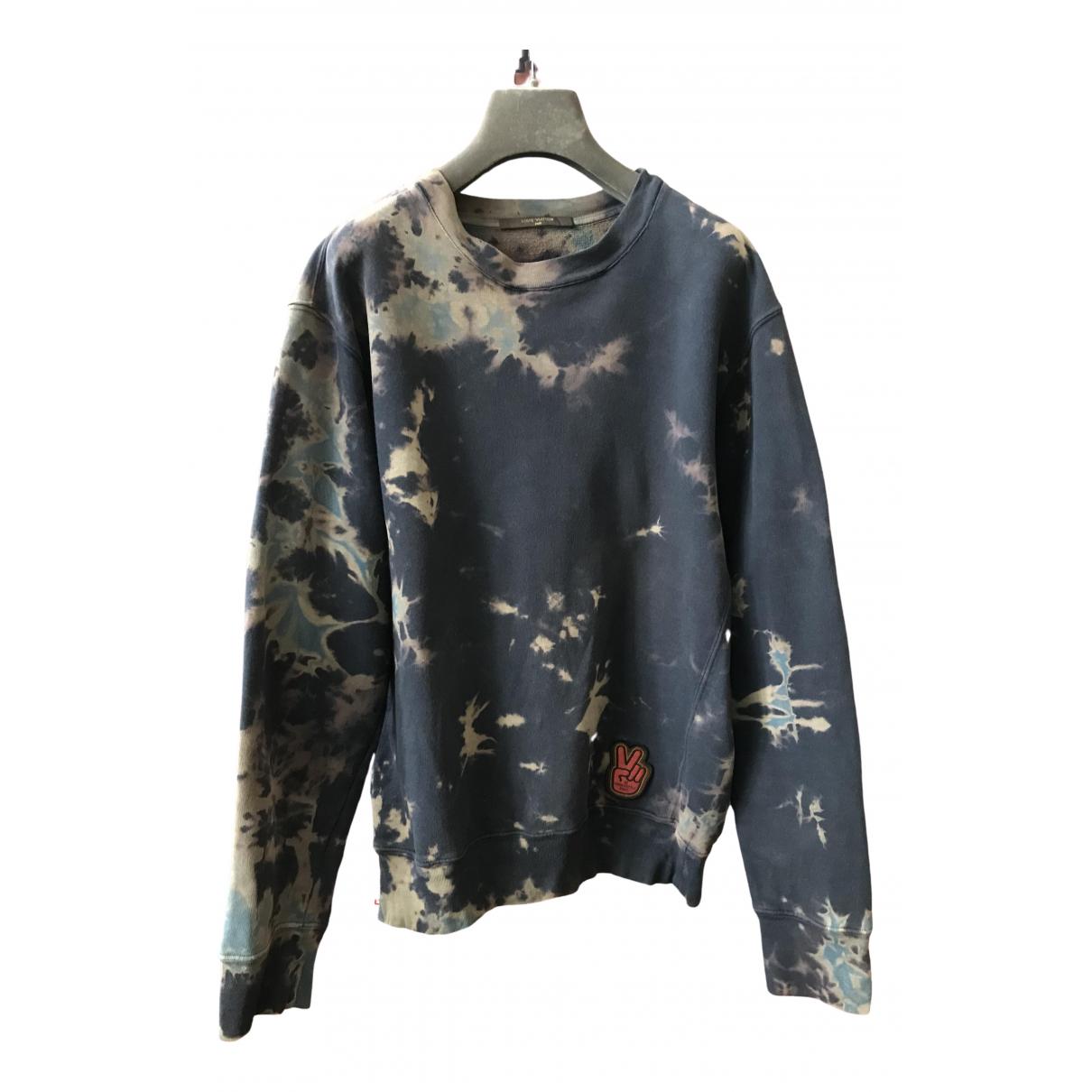 Louis Vuitton \N Pullover.Westen.Sweatshirts  in  Schwarz Baumwolle