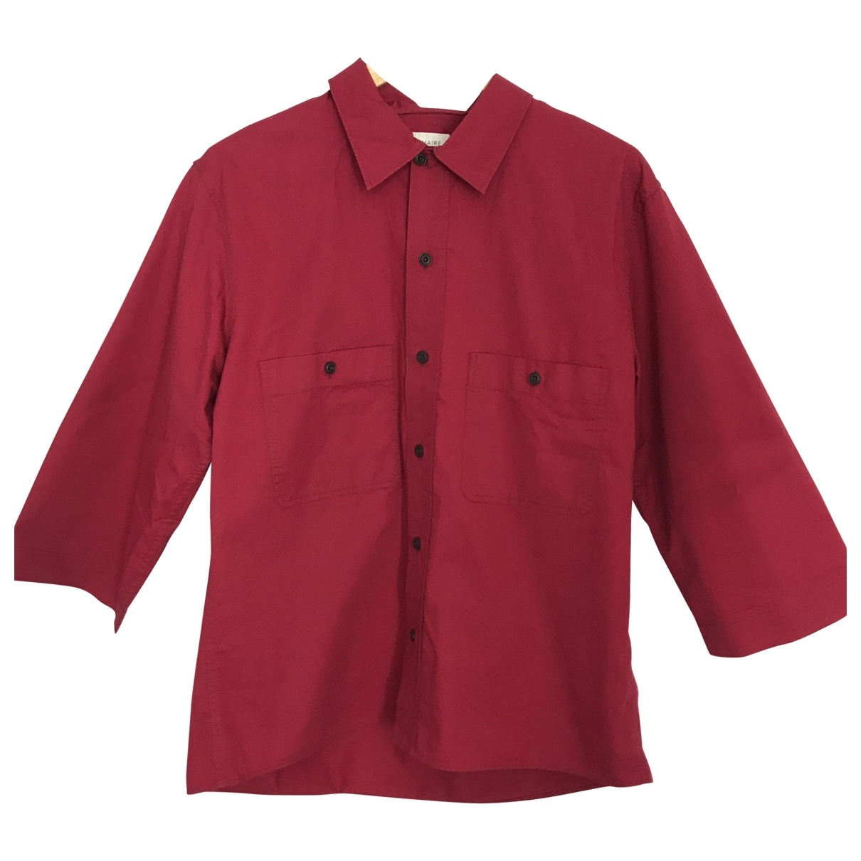Lemaire \N Pink Cotton Shirts for Men S International