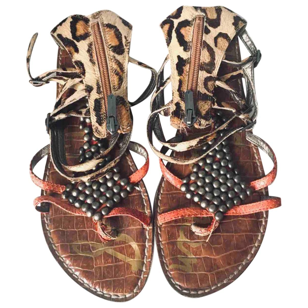 Sam Edelman \N Leather Sandals for Women 39 EU