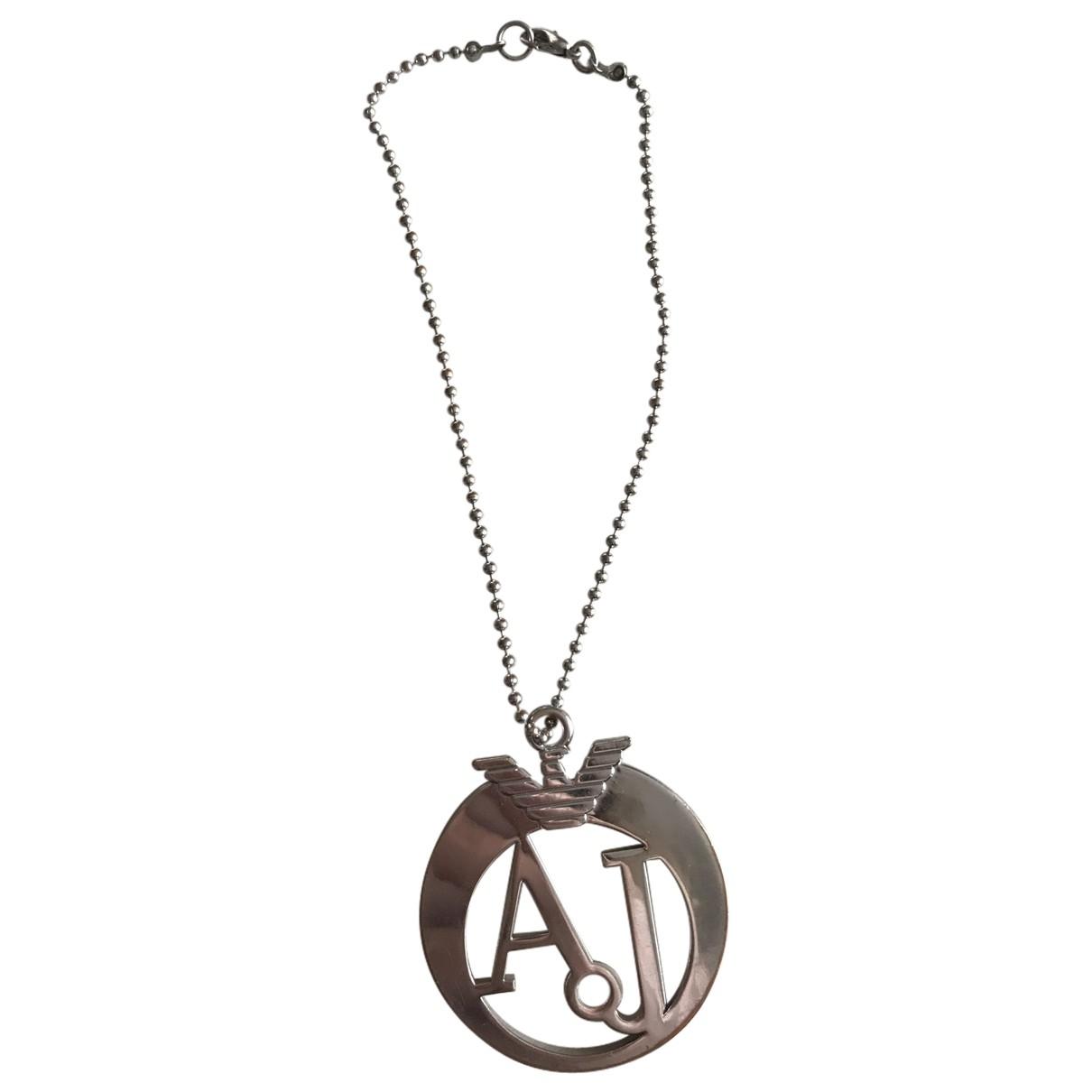 Armani Jean - Bijoux de sac   pour femme en acier - argente
