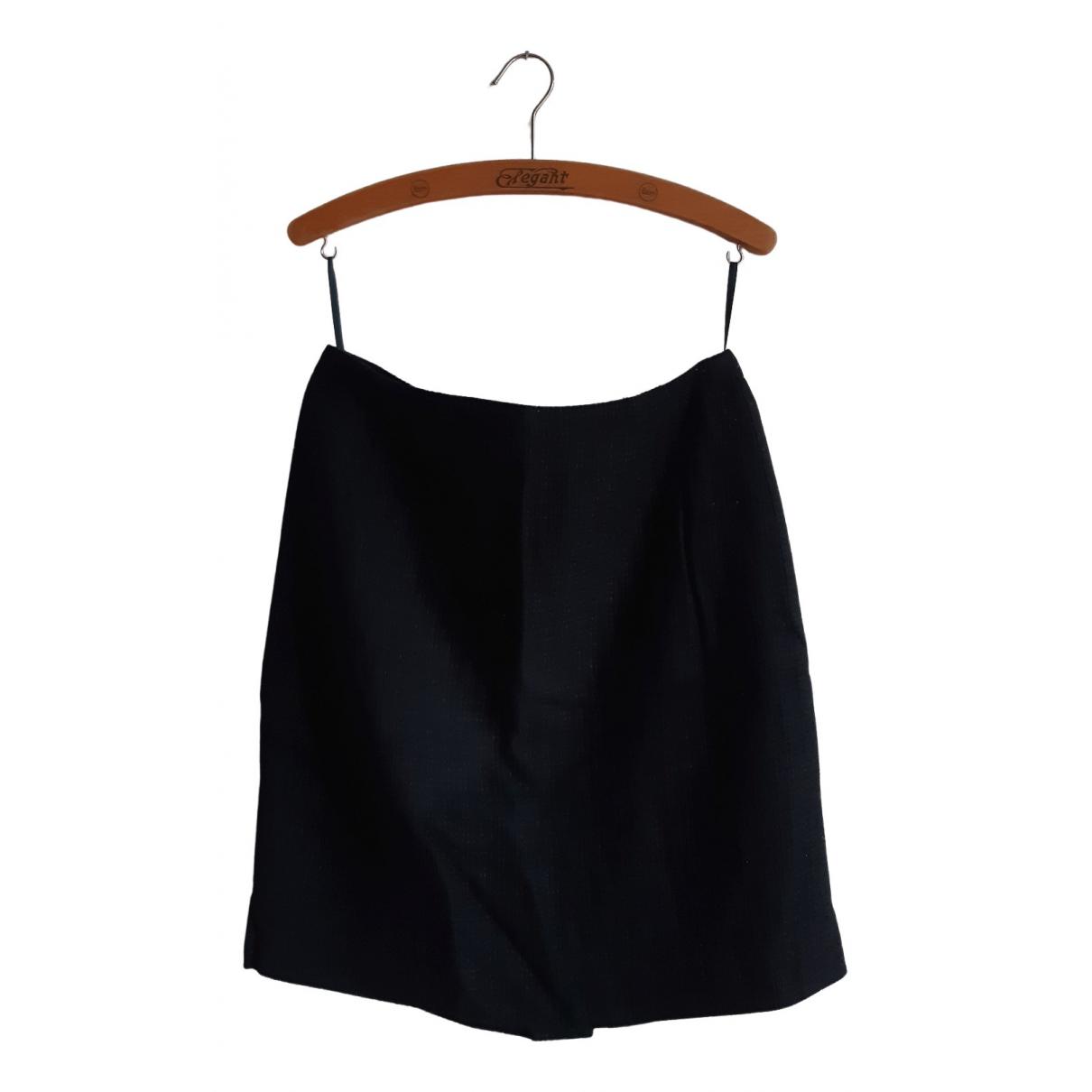 Escada \N Black Wool skirt for Women 38 FR