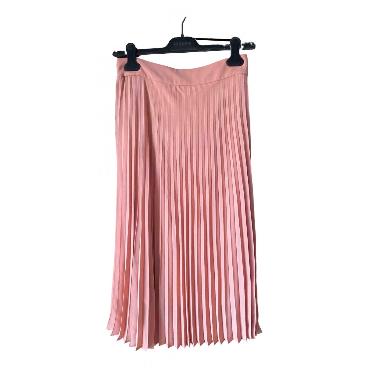 Sézane Spring Summer 2020 Pink skirt for Women 36 FR