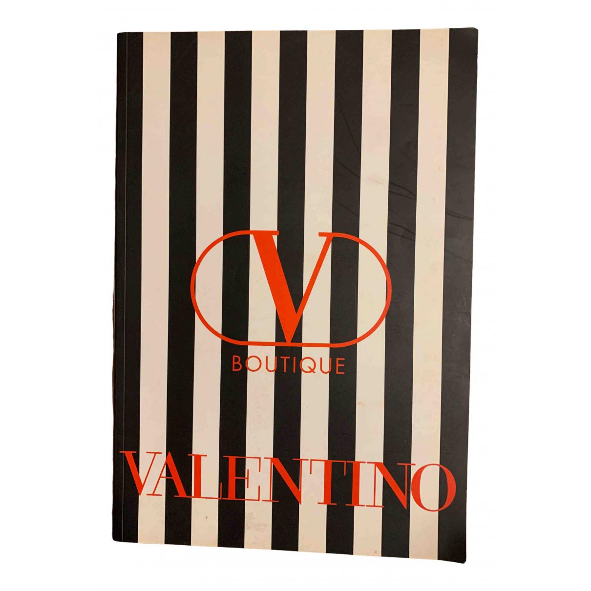 Valentino Garavani - Mode   pour lifestyle en coton - noir