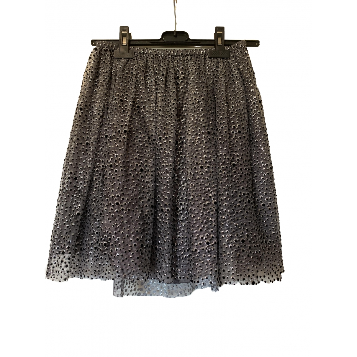 Red Valentino Garavani \N Silver skirt for Women 38 IT