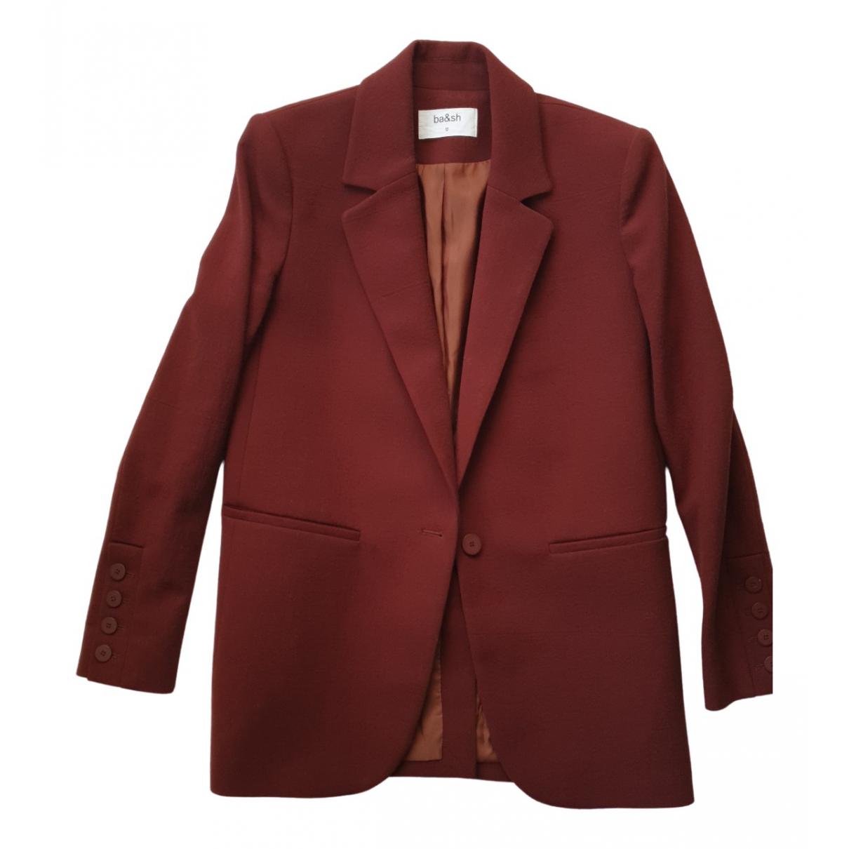 Ba&sh Fall Winter 2019 Brown jacket for Women 34 FR