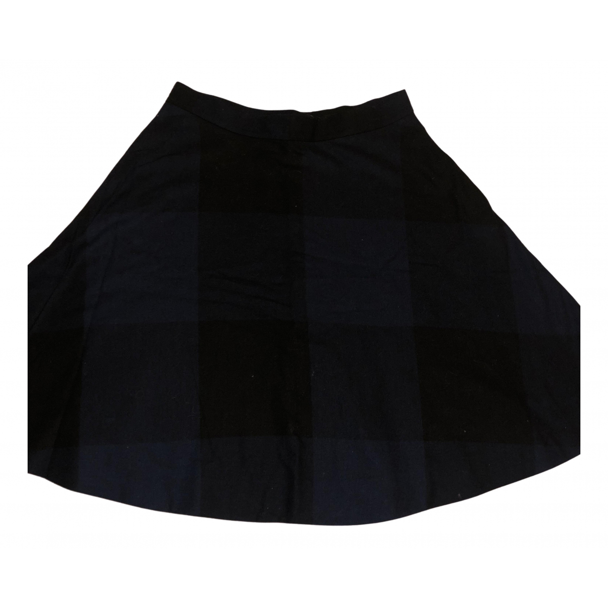 Cos N Navy Wool skirt for Women 36 FR