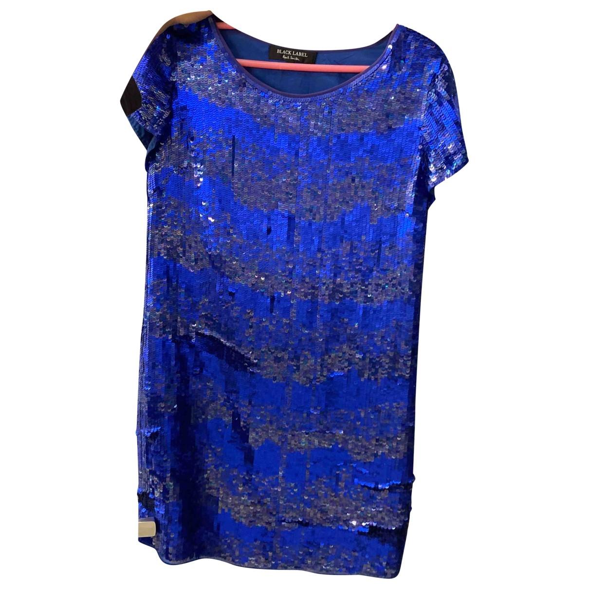Paul Smith \N Kleid in  Blau Seide