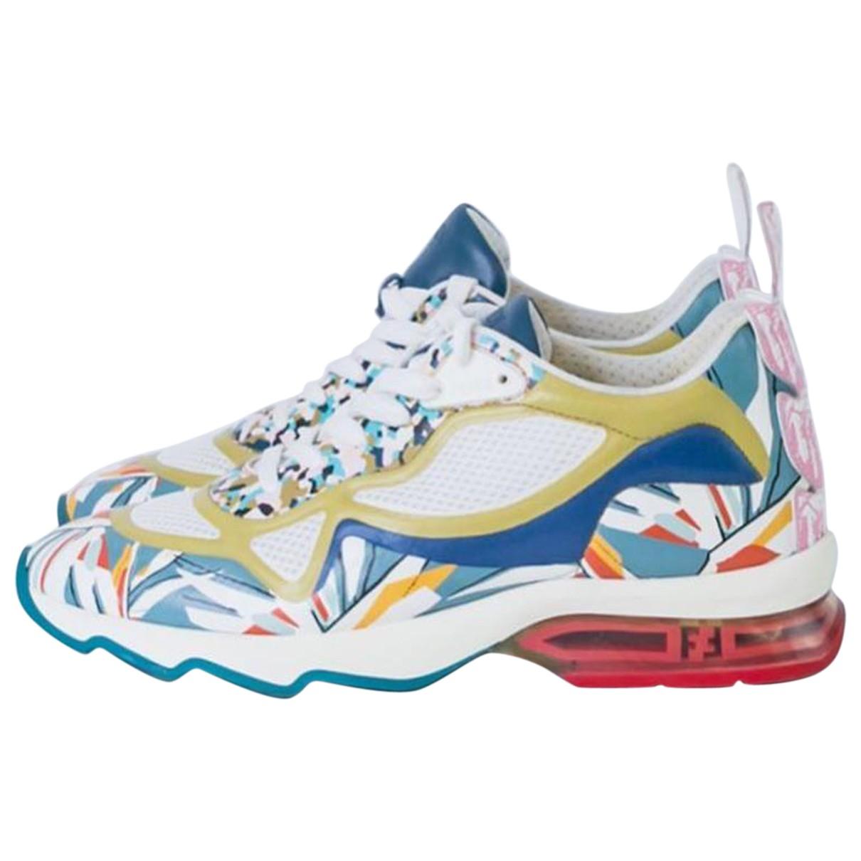 Fendi \N Sneakers in  Bunt Leinen