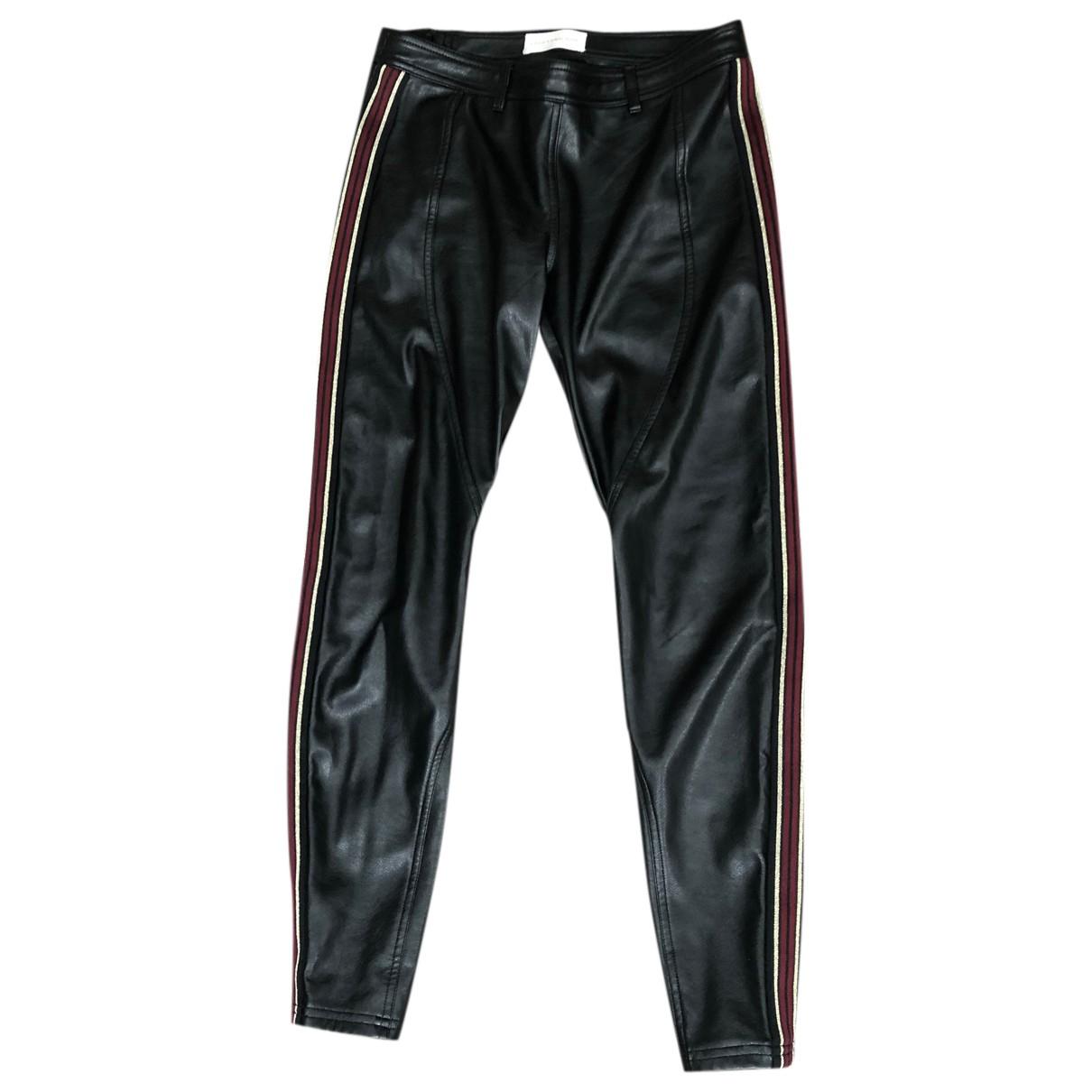 Faith Connexion N Black Trousers for Women 38 FR