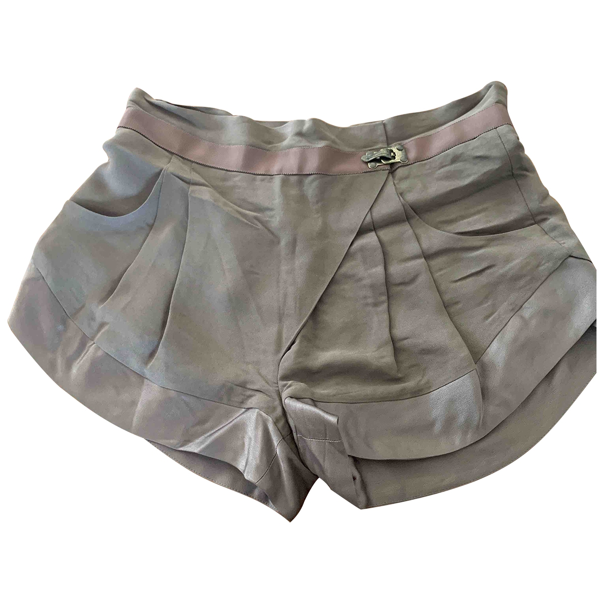 Matthew Williamson \N Khaki Shorts for Women 8 UK