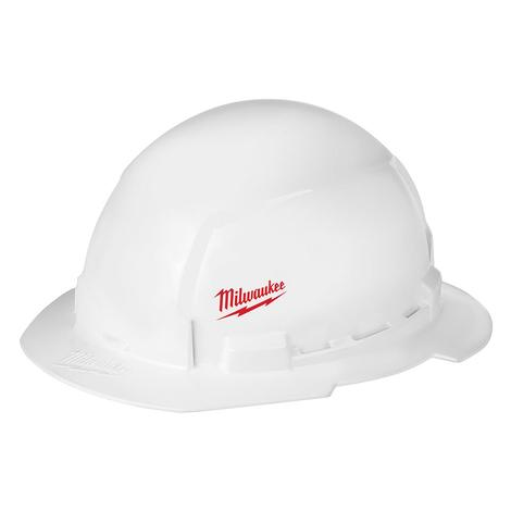 Milwaukee Full Brim Hard Hat with Bolt™ Accessories – Type 1 Class E (Small Logo)