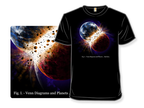 Planetary Intersection T Shirt