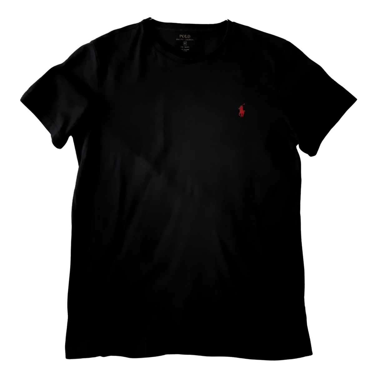 Polo Ralph Lauren \N Black Cotton T-shirts for Men M International