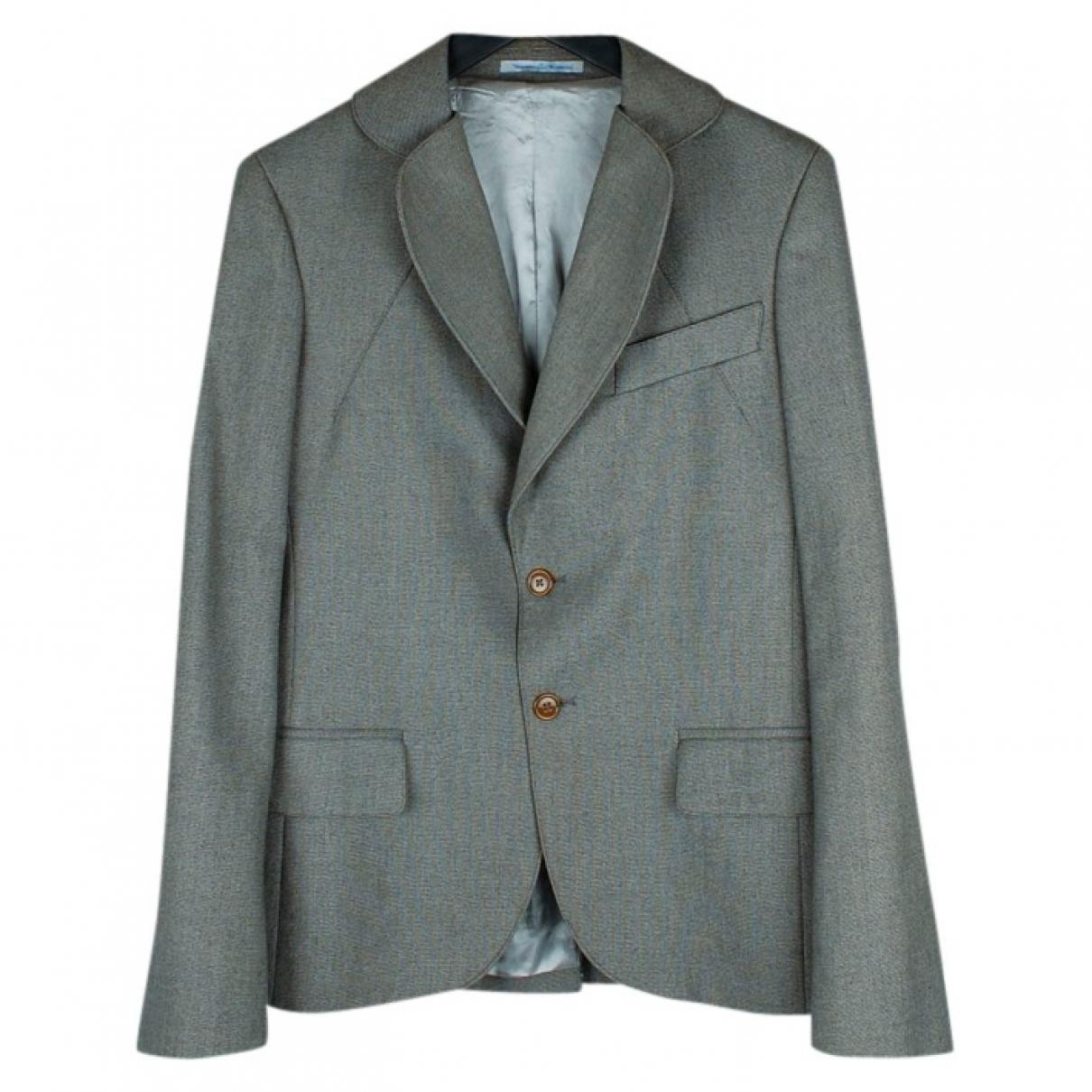 Vivienne Westwood \N Grey Cotton jacket  for Men M International