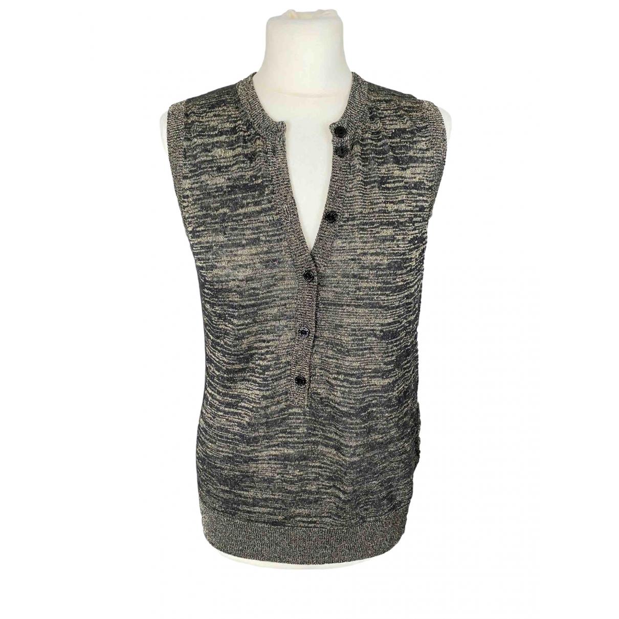 Dolce & Gabbana - Pull   pour femme en lin - dore