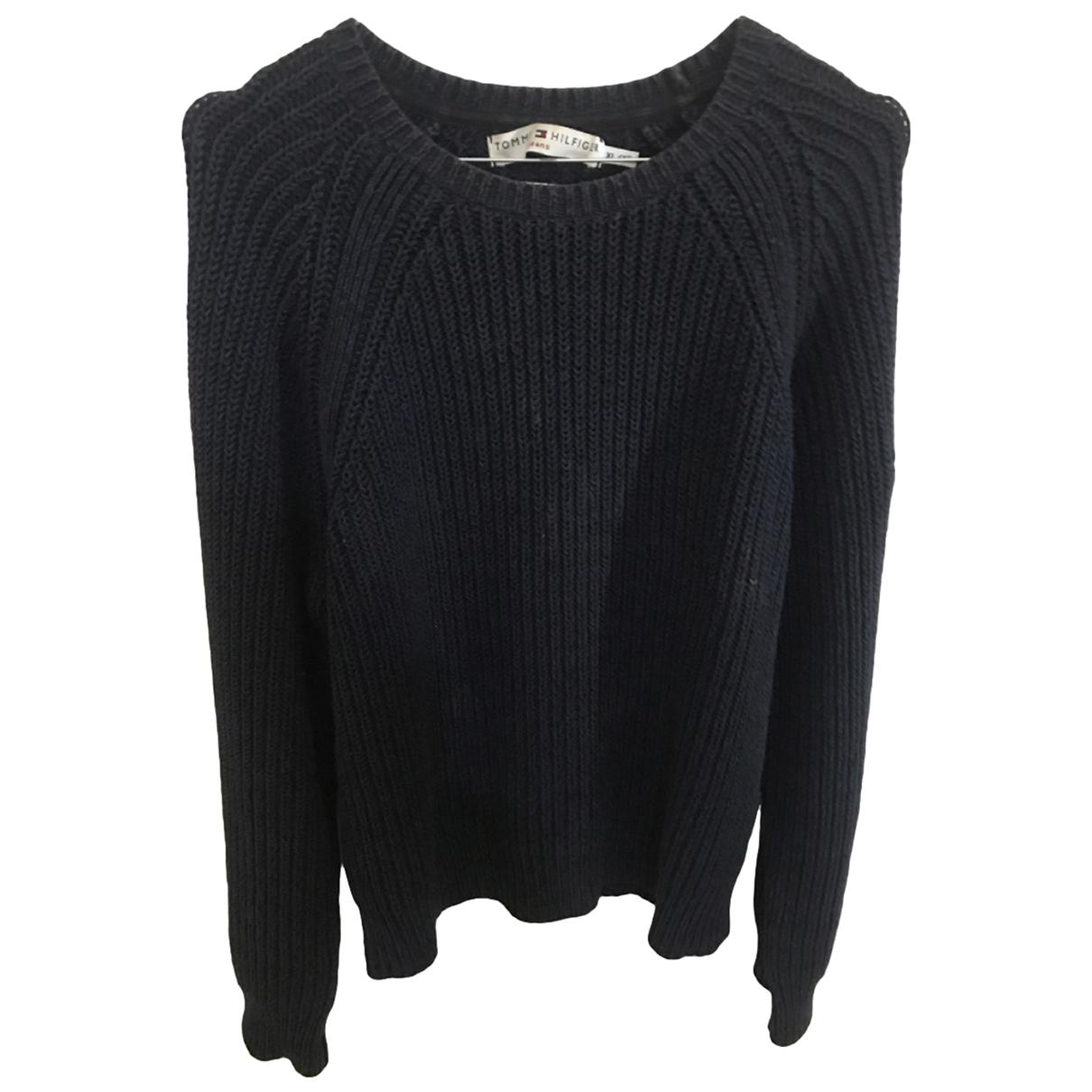 Tommy Hilfiger \N Blue Wool Knitwear for Women XL International