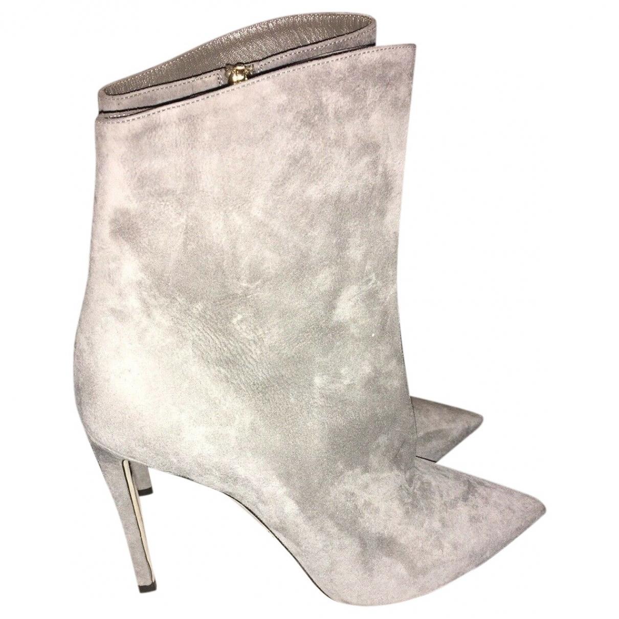 Jimmy Choo \N Grey Suede Boots for Women 40 EU