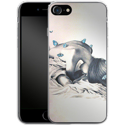 Apple iPhone 7 Silikon Handyhuelle - Bodysnatchers von Kate Powell