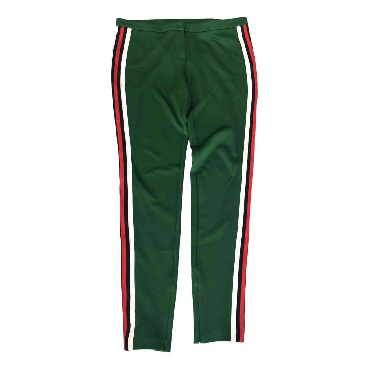Gucci \N Green Trousers for Women L International