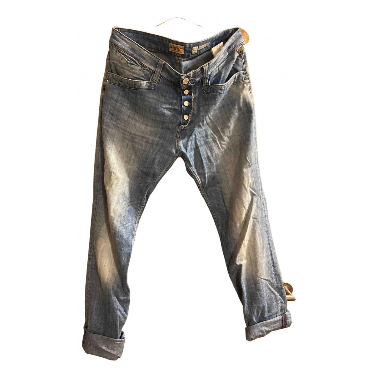 Replay \N Hose in  Blau Denim - Jeans
