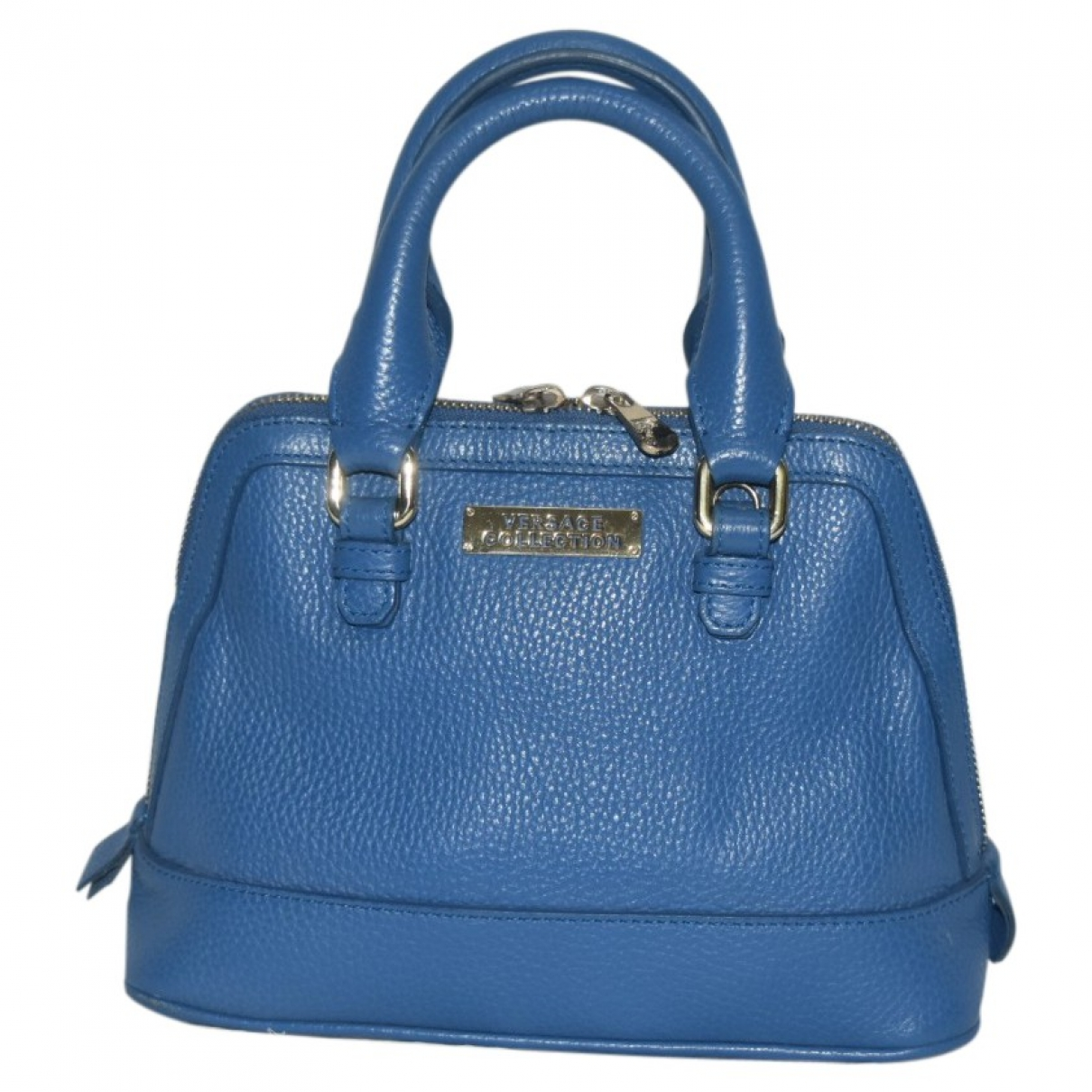 Versace Jeans \N Blue Leather handbag for Women \N