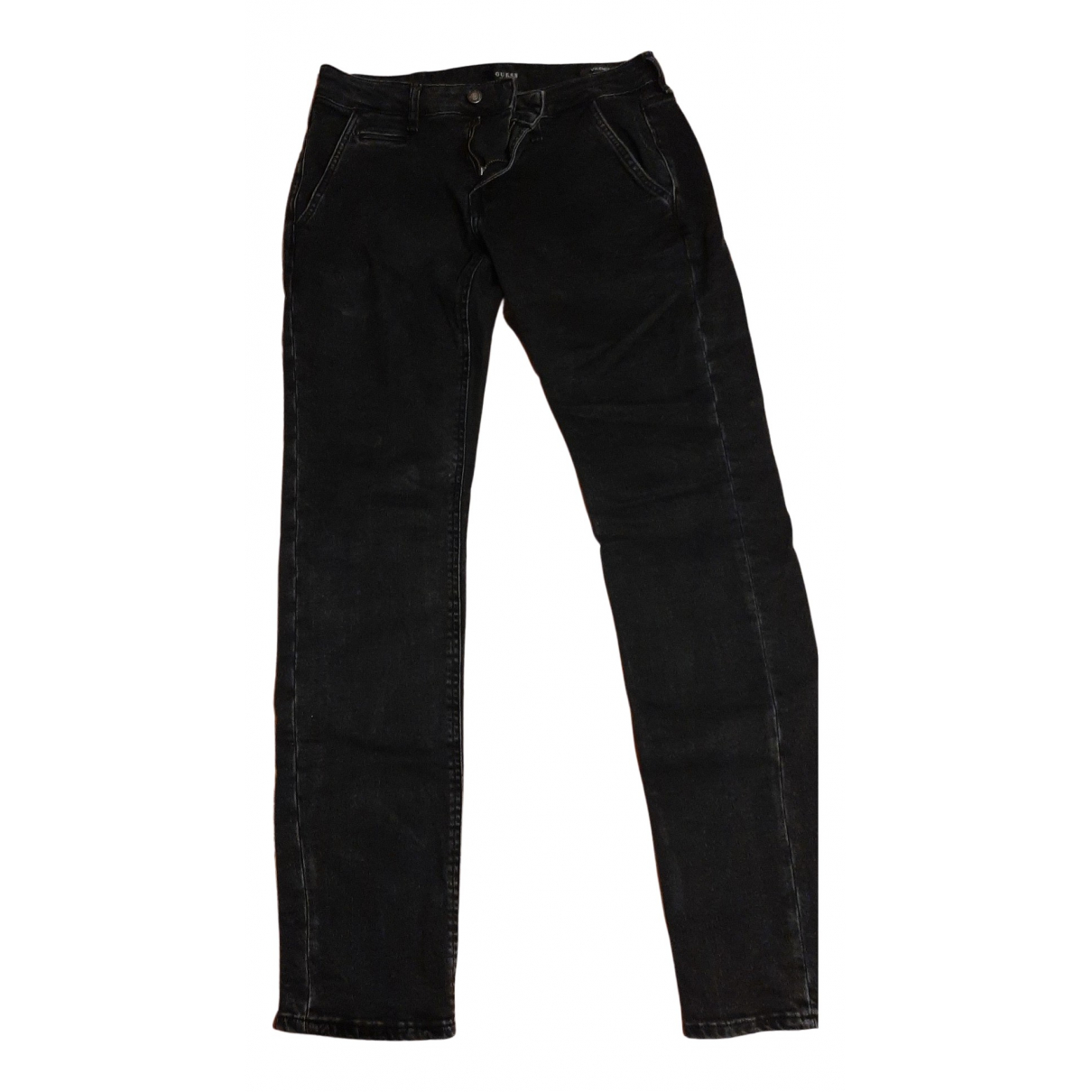 Guess N Black Cotton - elasthane Jeans for Men 30 US