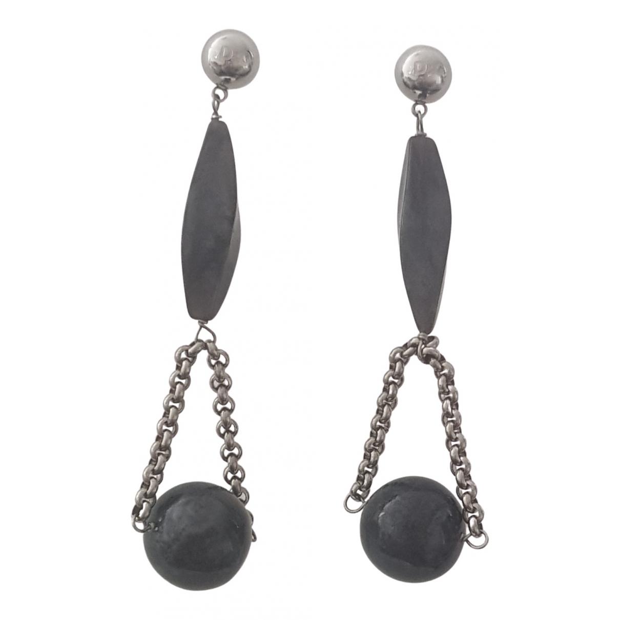 Dolce & Gabbana - Boucles d'oreilles   pour femme en metal - gris