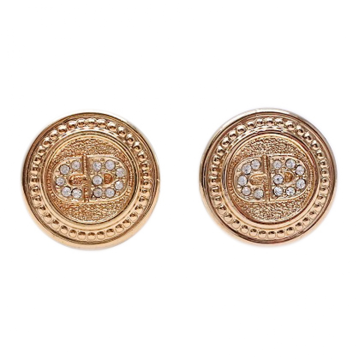 Dior \N Gold Gold plated Earrings for Women \N