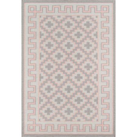 Erin Gates By Momeni Brookline Rectangular Indoor Rugs, One Size , Pink