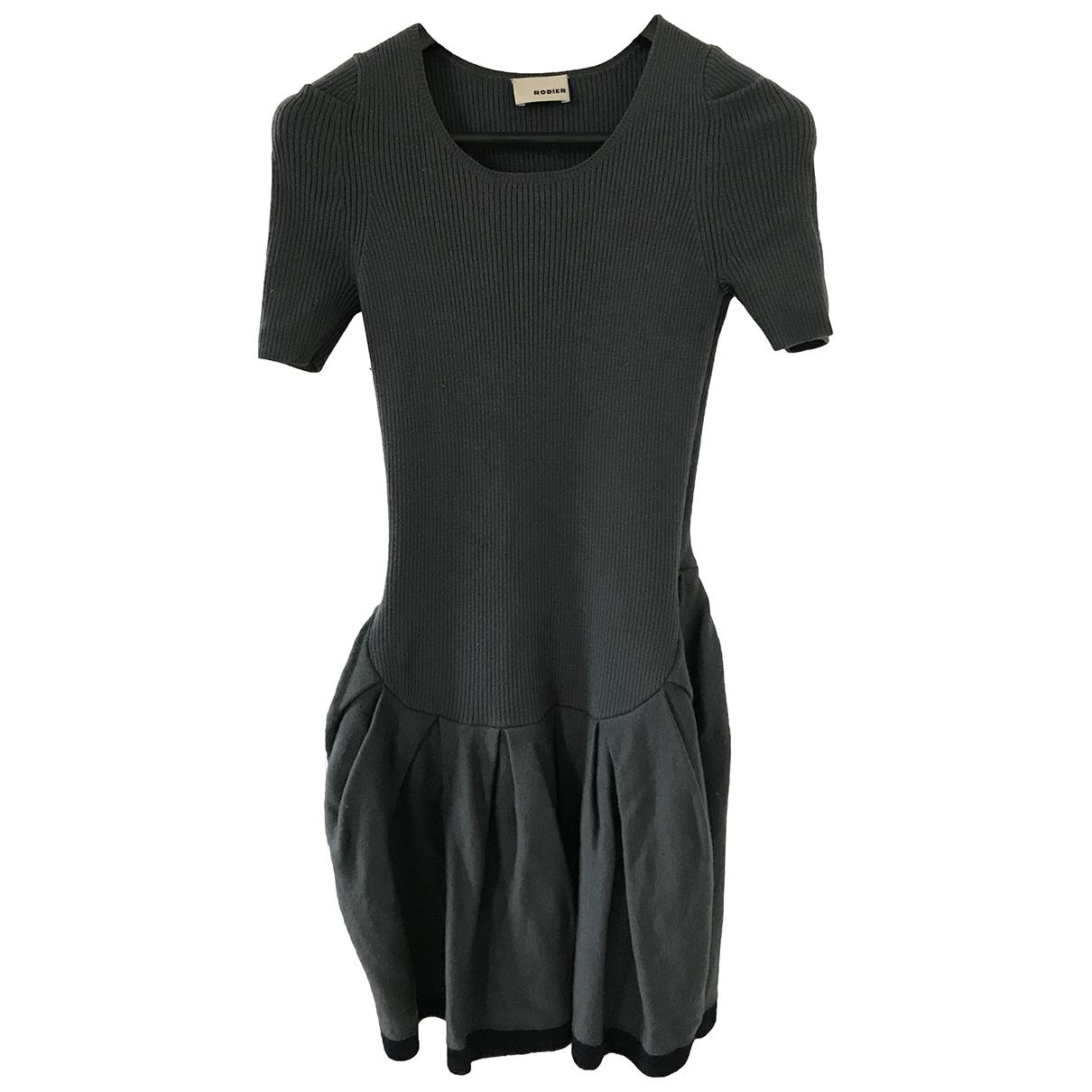 Rodier \N Kleid in  Grau Wolle