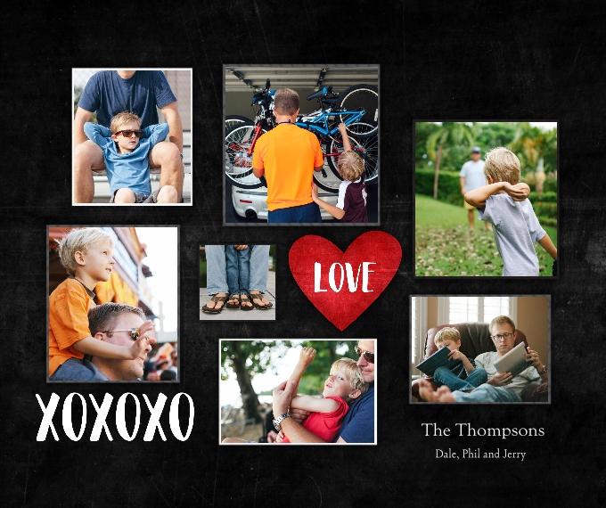Family + Friends Fleece Blanket, 50x60, Gift -Family Love XOXO