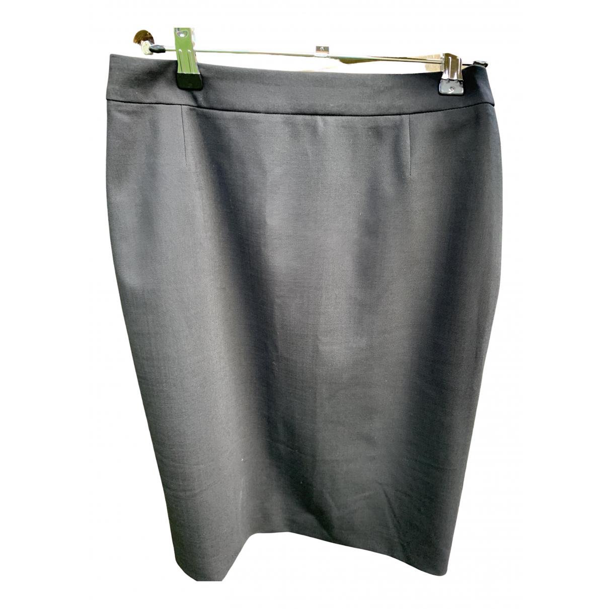 Boss \N Black Wool skirt for Women 8 UK