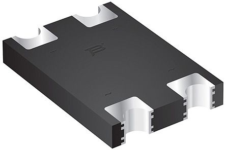 Bourns CD-HD201, Bridge Rectifier, 2A 100V, 4-Pin SMT (10)