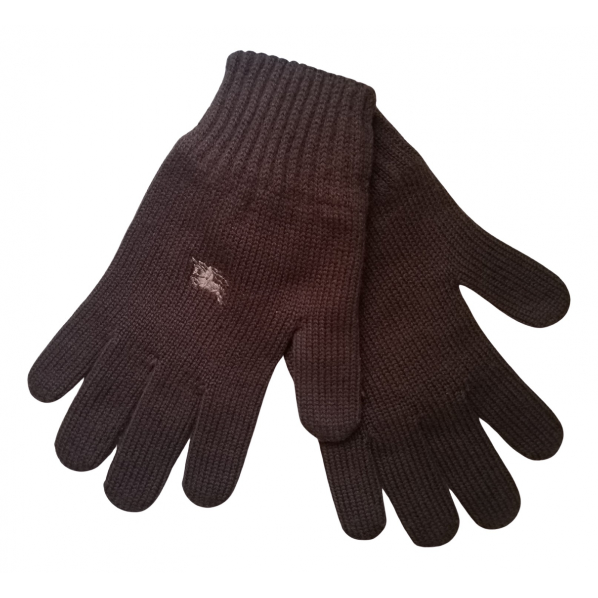 Burberry \N Brown Wool Gloves for Women XS International